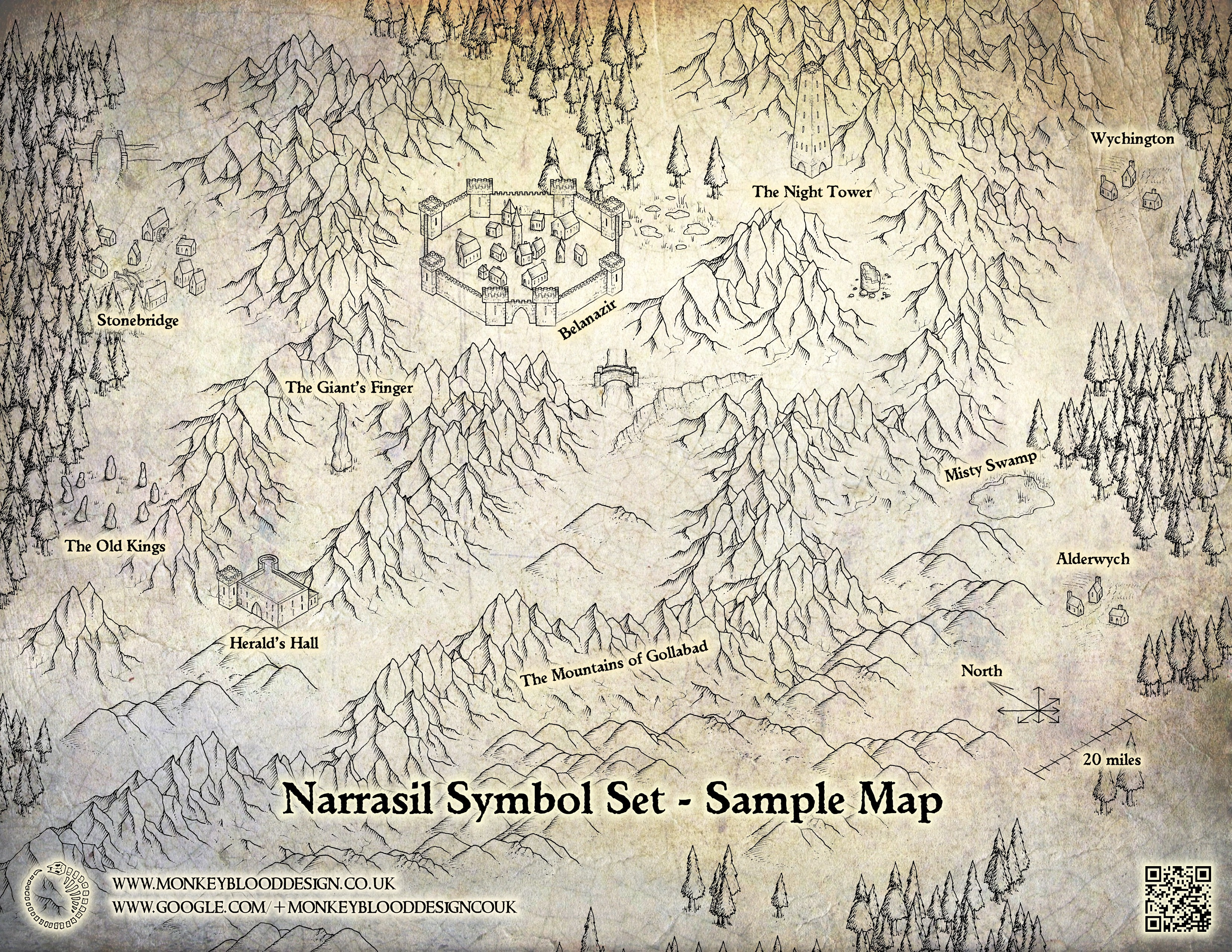 Narrasil Sample Map 1