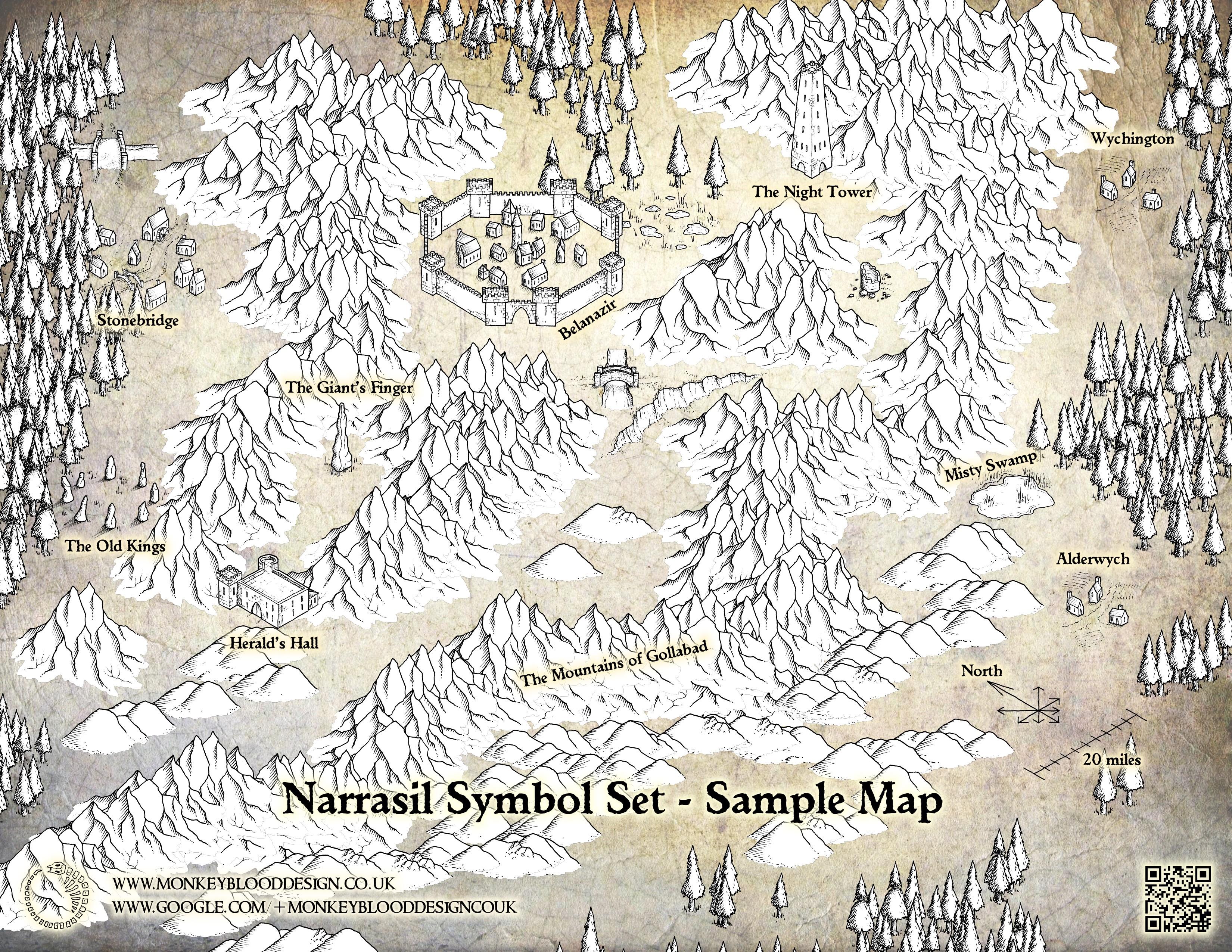 Narrasil Sample Map 2