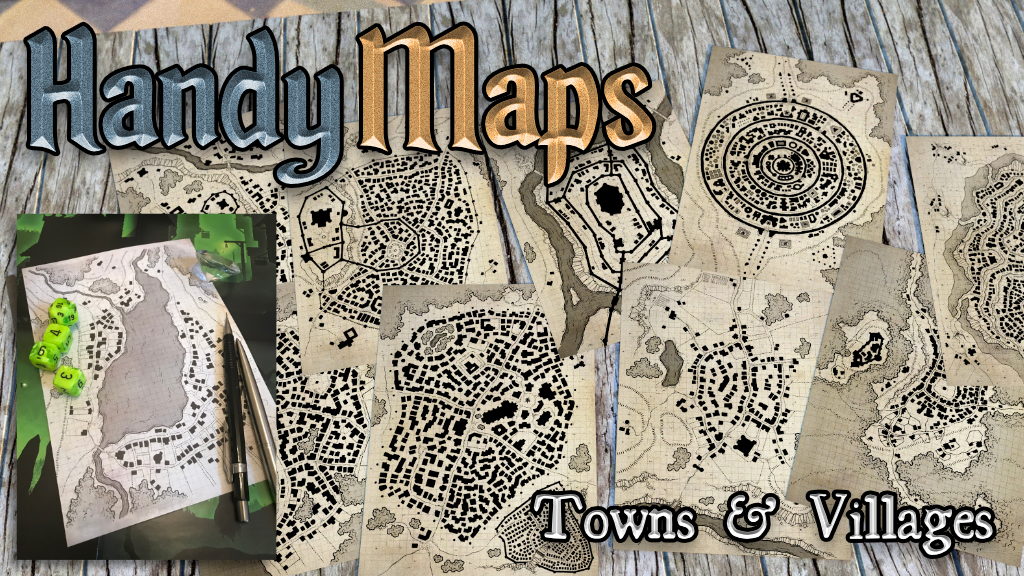 HandyMaps - Towns & Villages